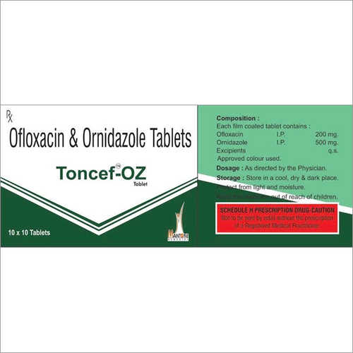 Toncef-OZ Tablets