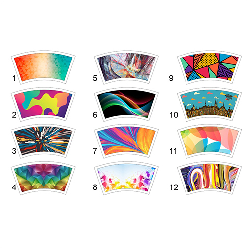 Colored Paper Cup Blank