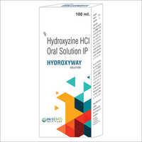Hydroxyzine HCI Oral Solution IP