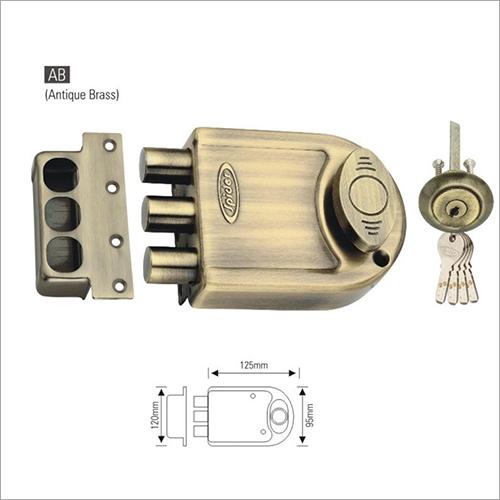 Antique Brass High Security Door Lock