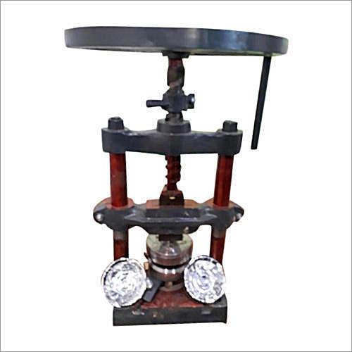 Hand Press All Type Plate Pattal Thali Making Machine