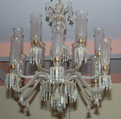 Transparent Chandeliers