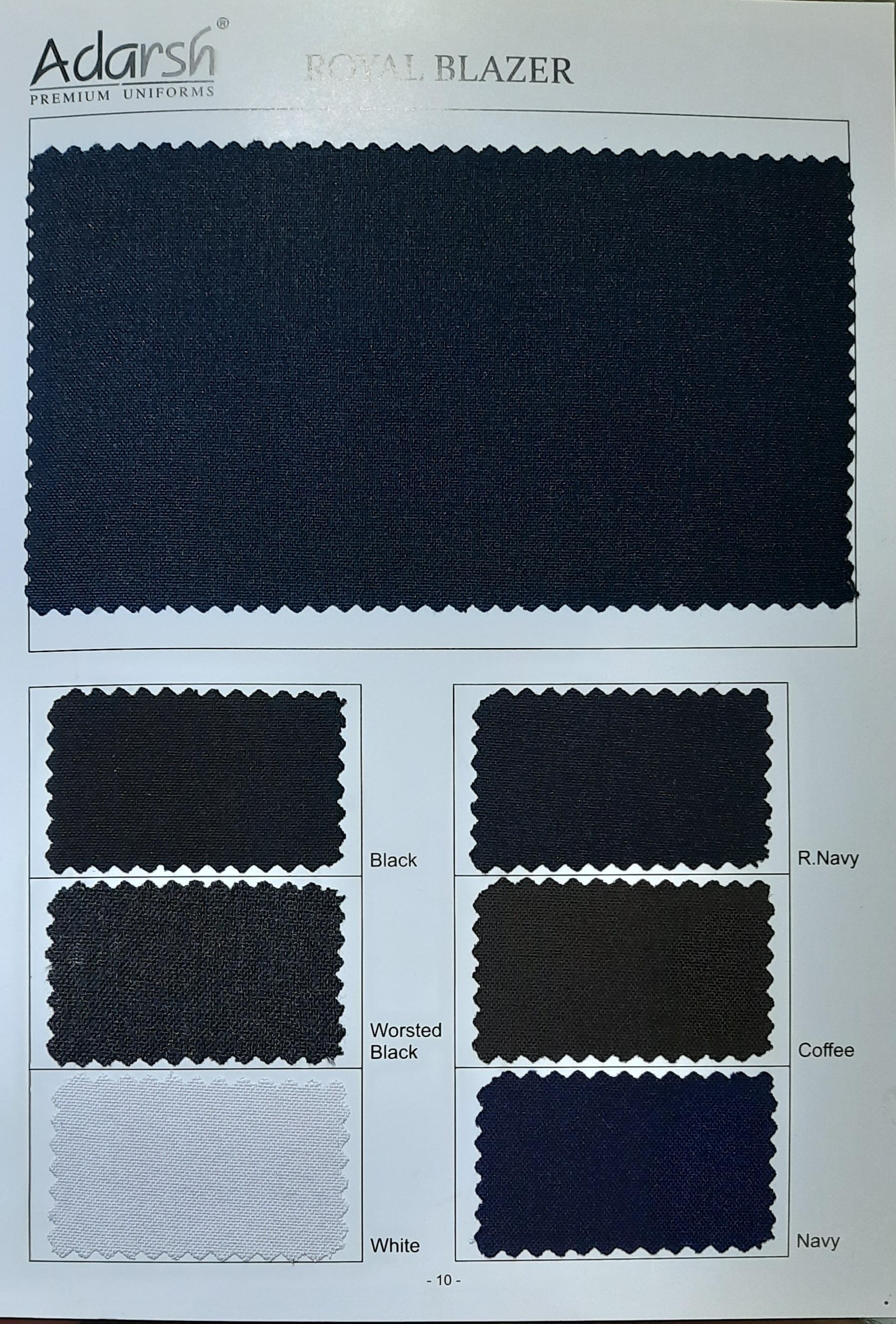 School Uniform Matty Fabric