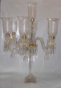 Transparent Pedestal Lamp