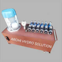 Six Cylinder Operated Hydraulic Power Pack