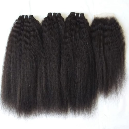 Afro Kinky Straight Hair Extensions