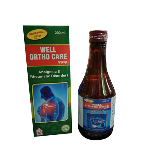 Well Ortho Care Syrup