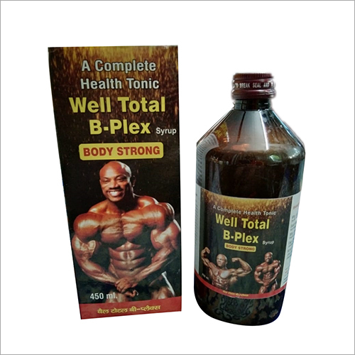 A Complete Health Tonic Well Total B-plex Syrup