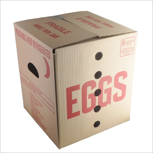 Egg Packaging Corrugated Box