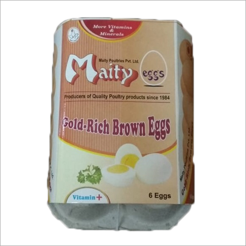 Gold Rich Brown Eggs Enrich Vitamins and Minerals