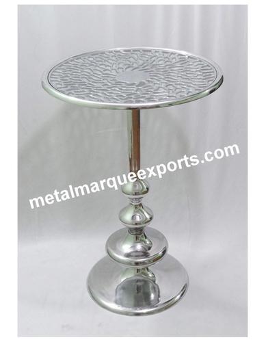 Fancy Metal Bar Table
