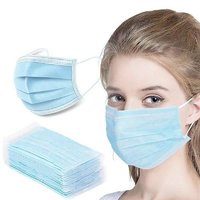 3 Ply Plain Disposable Face Mask