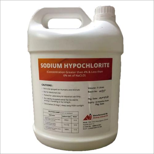 5 Ltr Sodium Hypochlorite