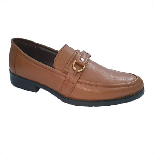 Leather Formal Slip On Shoes