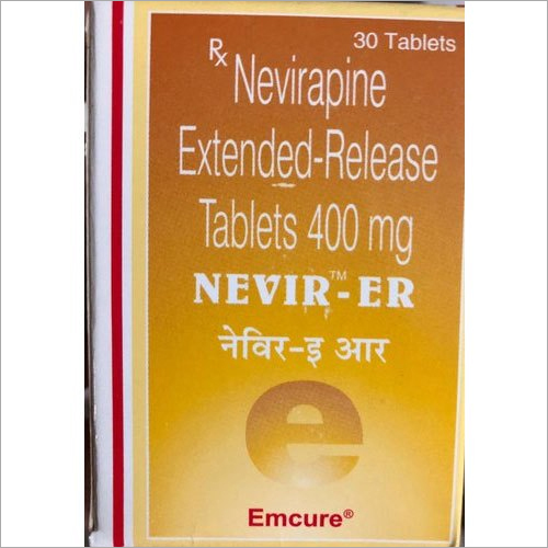 400 mg Nevirapine Extended Release Tablets