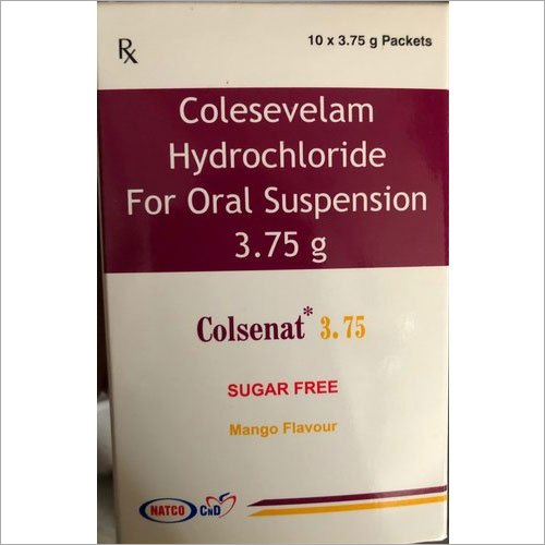 3.75 G Colesevelam Hydrochloride For Oral Suspension