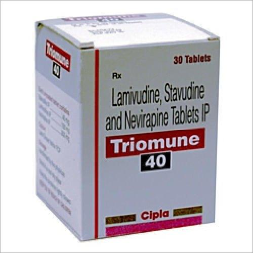 Lamivudine Stavudine Nevirapine Tablets IP 40