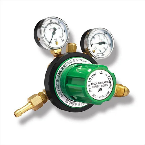 Durable Argon Gas Pressure Regulators