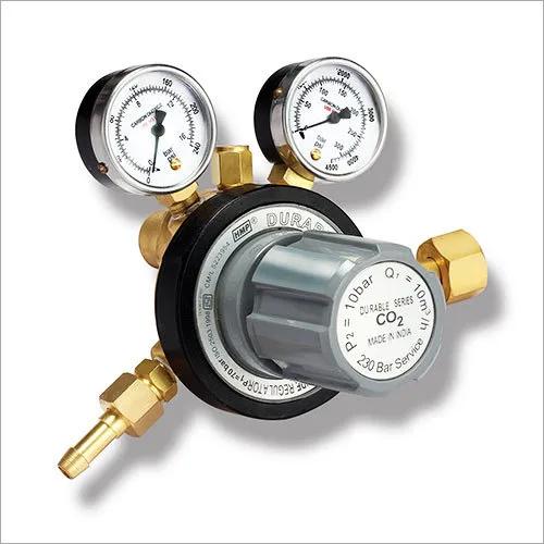 Durable CO2 Gas Pressure Regulators