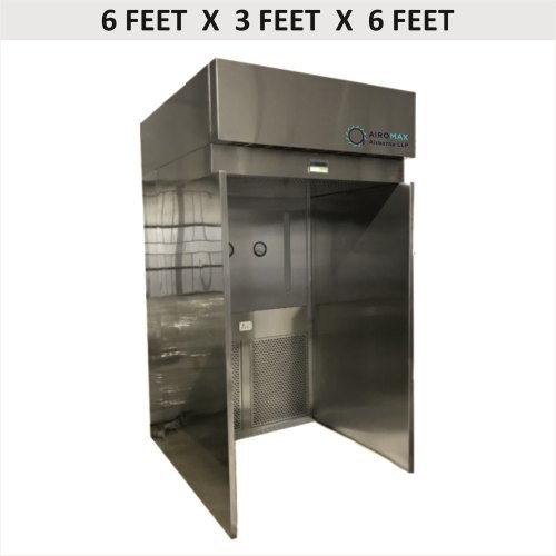 Sampling and Dispensing Booth - 6 X 3 X 6 (Reverse Laminar Air Flow Unit)