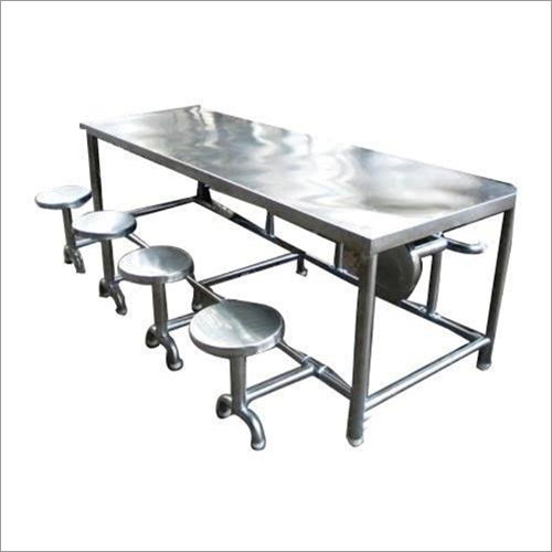Steel Canteen Dining Table