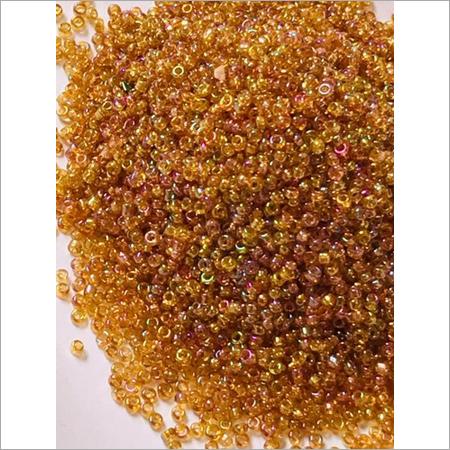Golden RB Glass Beads