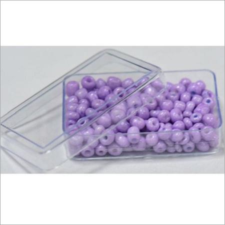 Purple Glass Seed Beads