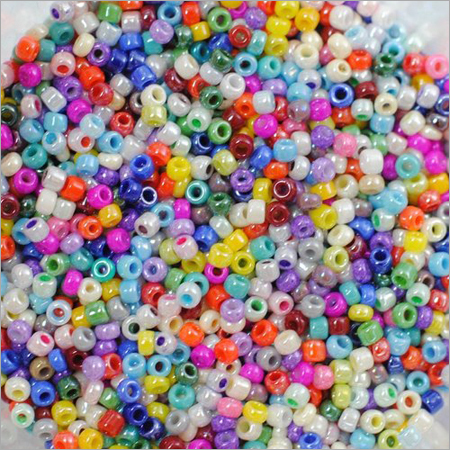 Multicolour Luster Glass Seed Beads