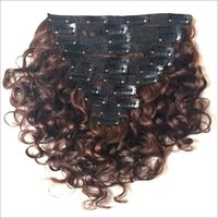 Natural Curly Clip In Hair Extension