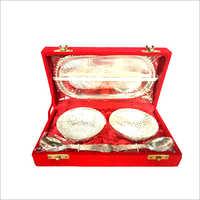 Silver Capsule Set Velvet Box