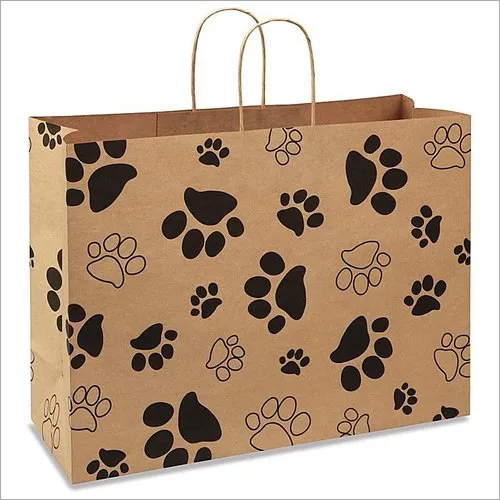 Grace Printed Shopping Paper Bag