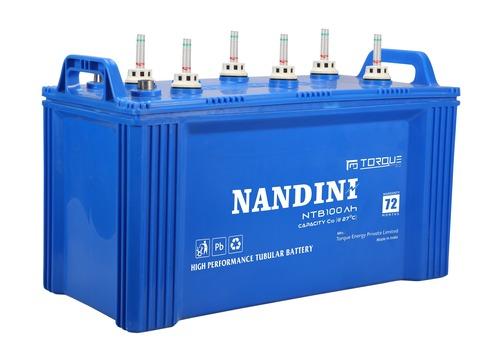 Nandini NTB 100Ah Flat Tubular Battery