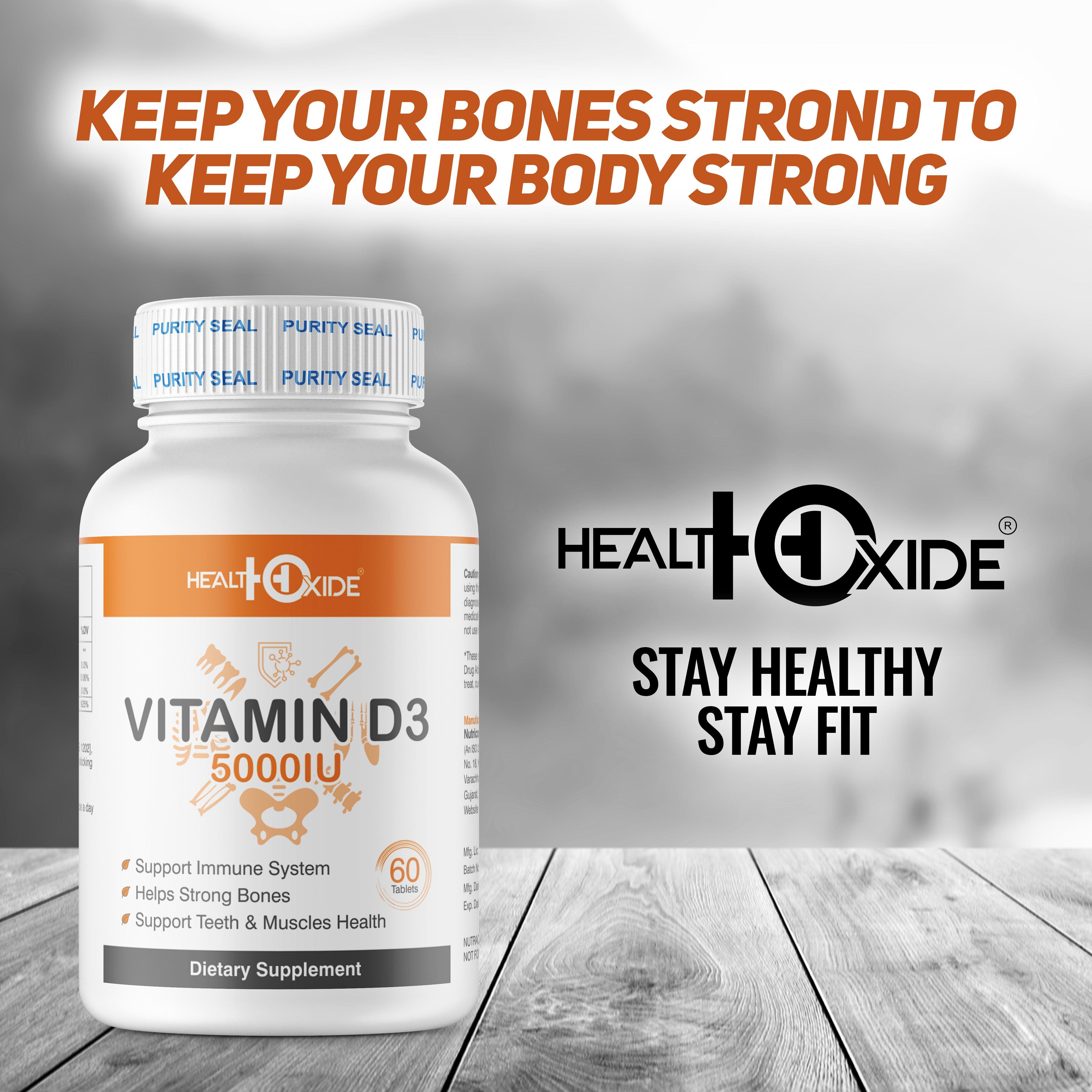 Vitamin D 3 5000 IU