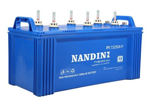 Nandini NTB12072Ah Flat Tubular Battery
