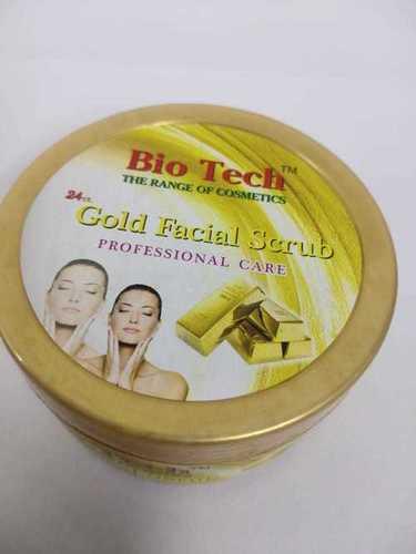 Glod facial scrub