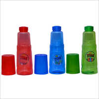 500 ml Small Titan Bottle With Glass