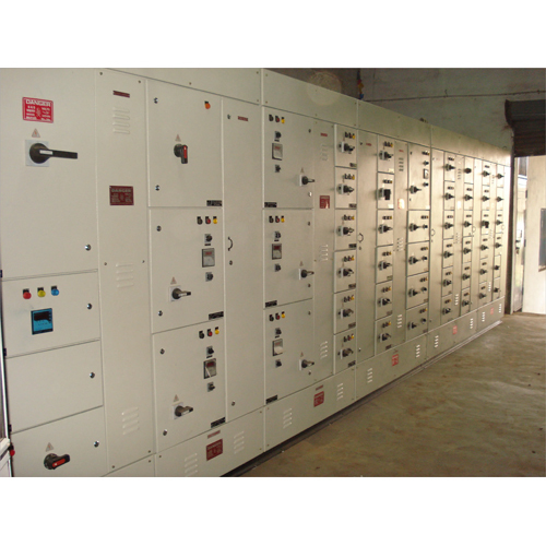 Center Compartmental Type Motor Control Panel