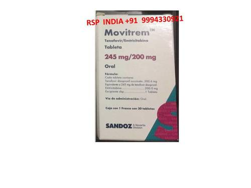 Movitrem 245mg-200mg Tablets