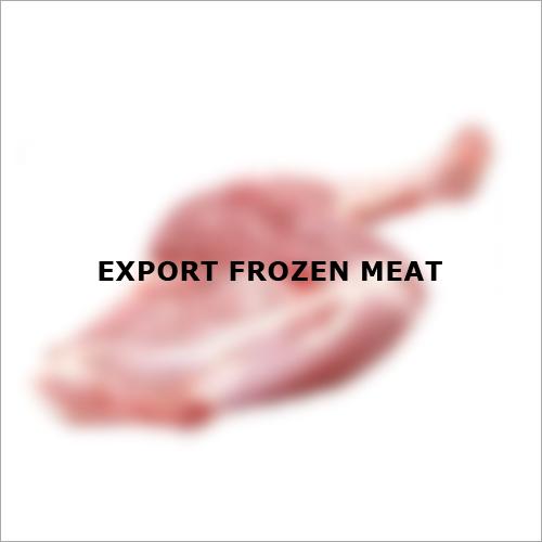Export Frozen Meat