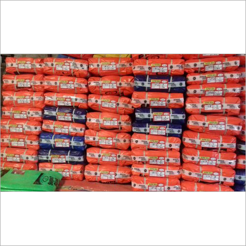 Superseal HDPE Tarpaulin 170 GSM Orange-Navy