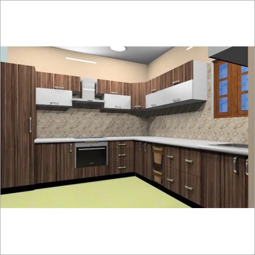 Wooden Laminate Modular Kitchen