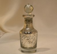 Silver Eatching Glass Decanter Height = 12.5Cm Dia = 5Cm Size