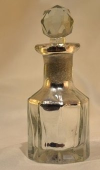 Silver Fragrance Bottle,Silver Decanter,Reed Diffuser,Glass Perfume Bottle