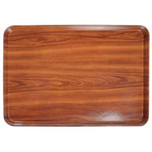 Cambro Fiberglass Burma Teak Wood