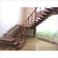 Wooden Stairs Decoration Service