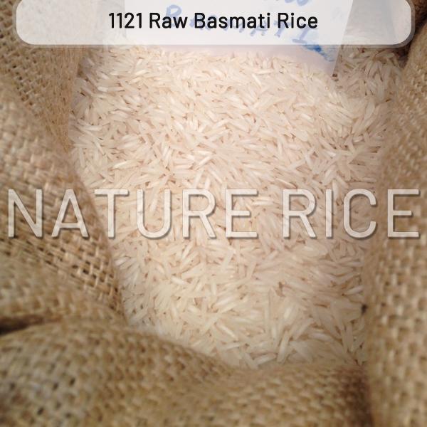 1121 Raw White Basmati Rice