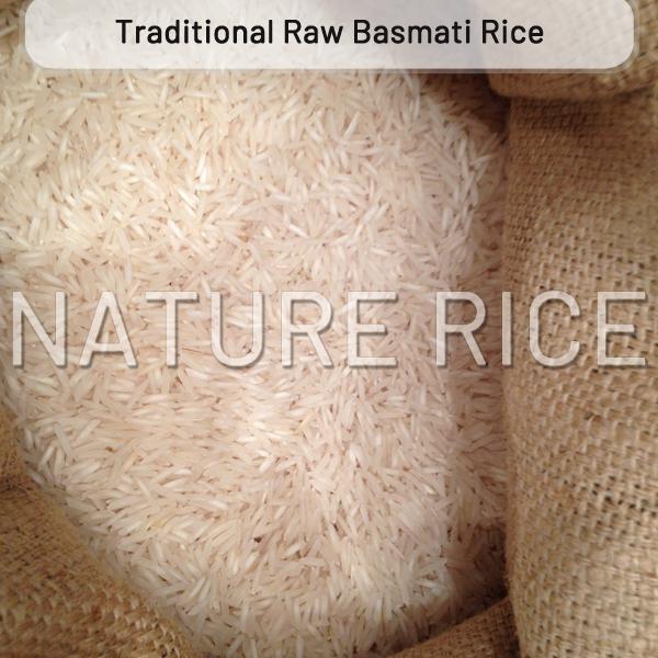 Traditional White Raw Basmati Rice