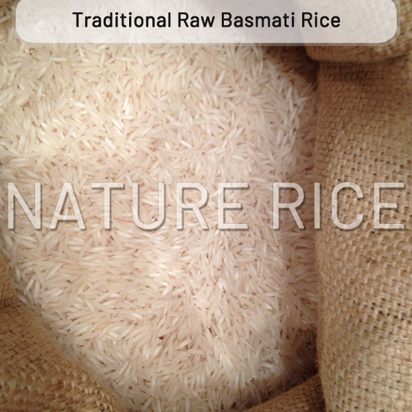Traditional White Raw Basmati Rice
