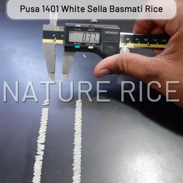 Pusa 1401 White Sella Basmati Rice