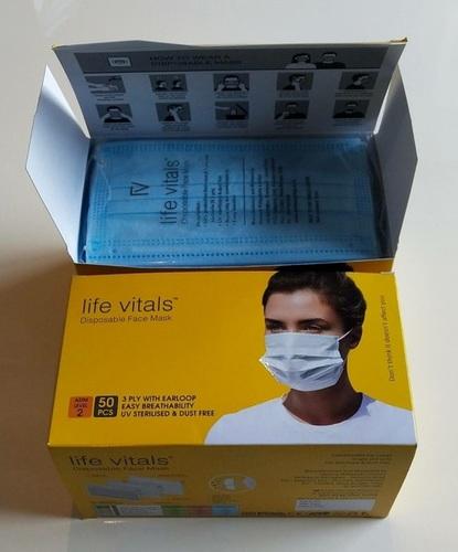 Life Vital 3 Ply Mask